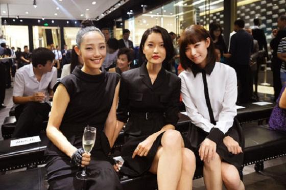 卡尔·拉格斐北京卓展店开幕vip酒会